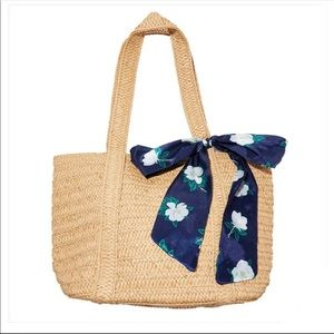 Draper James Everyday Straw Tote Bag